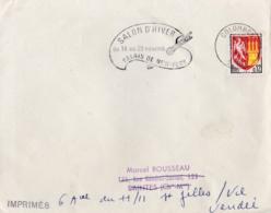 """Flamme Temporaire  """" Salon D'Hiver Palais De New-York """"  CaD Du 15 09 1964 De Colombes - Poststempel (Briefe)"""