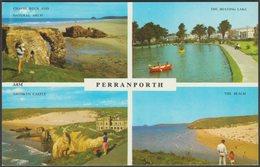 Multiview, Perranporth, Cornwall, C.1960s - Harvey Barton Postcard - England
