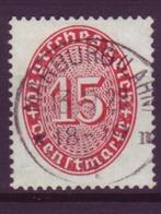 Dt. Reich Dienst D 118x Einzelmarke 15 Pf Gestempelt Marburg (Lahn) /2 - Dienstpost
