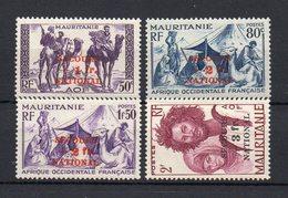 !!! PRIX FIXE : MAURITANIE, SERIE N°119/122 NEUVE ** - Mauritanie (1906-1944)