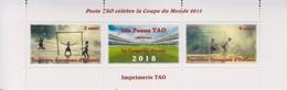 Coupe Du Monde Football 2018 - Territoire Autonome D'Océanie - A La Faciale - Coupe Du Monde