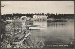 Lower Dells Boat Dock, Wisconsin, C.1950 - Kodak RPPC - United States