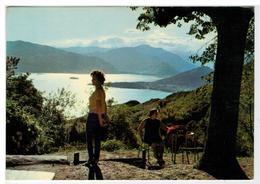 2 Cartoline Vararo - Panorama - Tramonto Sul Lago Maggiore - Varese