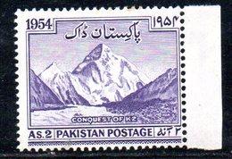 T1771 - PAKISTAN 1954, Yvert N. 72   ***  MNH - Pakistan