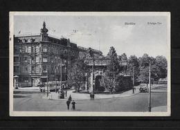 Alemania 1927 Tarjeta Postal Circulada De Stettin A Bogota - Alemania