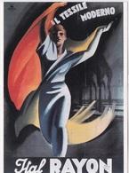 M. DUDOVICH MANIFESTO  PER L'ITAL RAYAN ECONOMIA ITALIANA TRA LE DUE GUERRE 1919 1939 AUTENTICA 100% - Cartes Postales