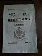 Societe De  Gymnastique  Et D' Armes  D' ANVERS  1839- 1939 - Saisons & Fêtes