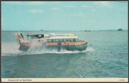Hovercraft At Southsea, Hampshire, 1977 - Dennis Postcard - England