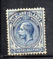 T1765 - FALKLAND 1921 , Yvert N. 43 Usato - Falkland