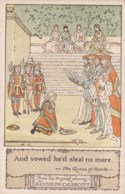 AM87 Nursery Rhyme - The Queen Of Hearts By Randolph Caldecott - Other Illustrators