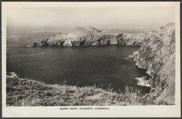 Rumps Point, Polzeath, Cornwall, C.1960s - Charles Woolf RP Postcard - England