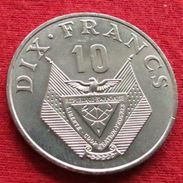 Rwanda 10 Francs 1985  Ruanda UNCºº - Rwanda