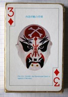 Beau Jeu De 54 Cartes à Jouer Vintage Opera Face Painting Art Chinese Playing Cards Hong Kong - 54 Cartes