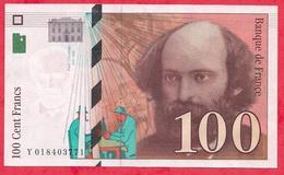 """100 Francs""""Cézanne"""" 1997 N °Y018403771----XF/SUP+ - 1992-2000 Dernière Gamme"""