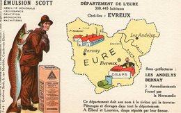 (80) CPA PUB  Emulsion Scott . Departement De L' Eure - France
