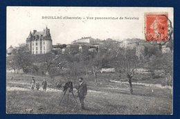 16. Rouillac. Vue Panoramique  Du Château De Neuvicq. Photographe Et Son Appareil. 1921 - Rouillac