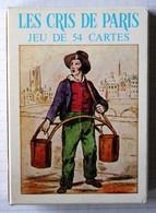 Beau Jeu 54 Cartes à Jouer Les Cris De Paris Grimaud Vieux Métiers - 54 Cards