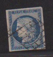 N  4  /    25 Centimes Bleu / Oblitéré - 1849-1850 Ceres