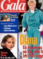Gala 42 Diana Jean Michel Jarre Sharon Stone Anémone Pavarotti Visconti Charles - People