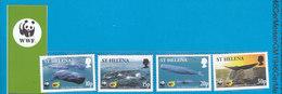 St.Helena WWF 2002  / Sperm Whales - W.W.F.