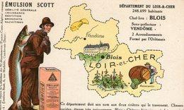(80) CPA PUB  Emulsion Scott . Departement Du Loir Et Cher - Autres Communes