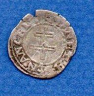Lorraine  -  6 Deniers -  Charles III --  état  TB  --- Nancy - 476-1789 Monnaies Seigneuriales
