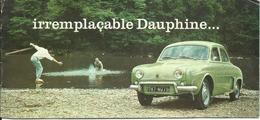 BROCHURE DAUPHINE RENAULT - Voitures