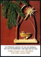 B6889 - TOP Krippe Weihnachtskrippe Weihnachten - Erzgebirgische Volkskunst - Max Müller Karl Marx Stadt DDR - Non Classés