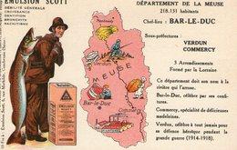 (80) CPA PUB  Emulsion Scott . Departement De La Meuse - France