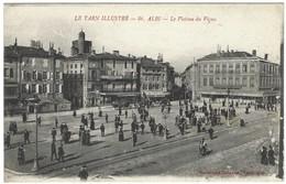 81 - Albi - La Plateau Du Vigan - Carte D'un Soldat Blessé Attendant La Réforme En 1918 - Albi