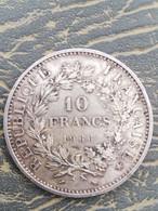 10 Francs Argent 1966 - Frankreich
