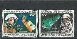 CAMEROUN  Scott C291-C292  Yvert PA305-PA306 (2) ** Cote 12,00  $ 1981 - Cameroun (1960-...)