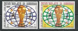 CAMEROUN  Scott 724-725  Yvert 704-705 (2) ** Cote 16,00  $ 1982 - Cameroun (1960-...)