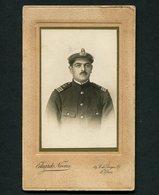 """1916 CDV Fotografia Antiga: Militar MARINHA Uniforme, Dedicatoria """"despedida 1916 Dafundo"""". WWI Grande Guerra PORTUGAL - Photos"""