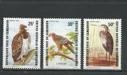 CAMEROUN  Scott 738-740  Yvert 717-719 (3) ** Cote 8,75  $ 1983 - Cameroun (1960-...)