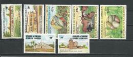 CAMEROUN  Scott 757-758, 765-767, 759-760  Yvert 736-737, 748-750, 738-739 (7) ** Cote 7,50  $ 1984 - Cameroun (1960-...)