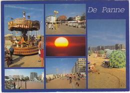 Groeten Uit De Panne - O.a. STOOMCAROUSSEL - (België) - De Panne