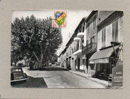 CPSM Dentelée - PEGOMAS (06) - Aspect De L'entrée Du Bourg Et De La Grande Rue Dans Les Années 50 - Autres Communes