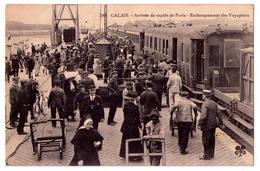 3002 - Calais ( 62 ) - Arrivée Du Rapide De Paris ( Embarquement Des Voyageurs - N°245 - M.T.I.L. Tesson Maurice - - Calais