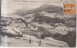 Sainte Catherine Et Briançon    1923 - Briancon