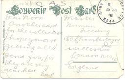 ARMY POST OFFICE POSTMARK - SZ44 - JERUSALEM - WW1 19th August 1918 - Postmark Collection