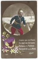 Carte Patriotique Première Guerre Mondiale  - Dragon Français - Poésie - Guerra 1914-18