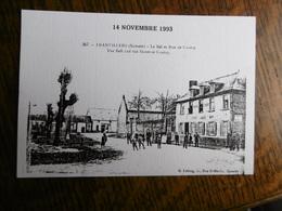 D 80 - Franvillers - 2é Bourse Toutes Collections - 14 Novembre 1993 - Le Bal Et Rue De Contay - Autres Communes