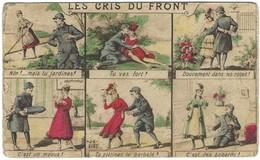 Les Cris Du Front - Première Guerre Mondiale 14-18 - Carte Humoristique - Umoristiche