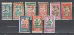 Inini  1932 Taxe   N° 1 à 9  Neuf  X Série Compléte - Inini (1932-1947)