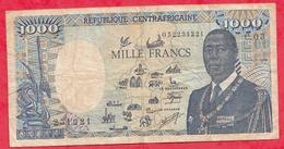 Rép Centrafricaine 1000 Francs Du 01/01/1995 Dans L 'état  (1) - Centrafricaine (République)