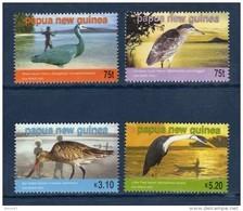 PAPOUASIE Papua New Guinea 2005 Sea Birds Oiseaux Grues 4 Val MNH ** - Papouasie-Nouvelle-Guinée