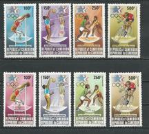 CAMEROUN  Scott C309-C312, C321-C324  Yvert PA323-PA326, PA335-PA338 (8) ** Cote 18  $ 1984 - Cameroun (1960-...)