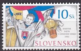 Slowakei, 2002, 432, Gewinn Der Eishockey-Weltmeisterschaft. MNH **, - Slovacchia