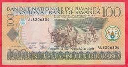 Rwanda 100 Francs Du 01/05/2003 Dans L 'état  (9) - Rwanda